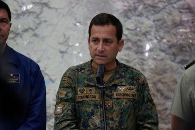 """General Iturriaga y actuar de militares en las calles: """"Nunca queremos hacerle daño a las personas"""""""