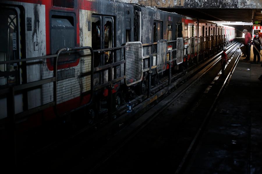 """""""Fiscalía logra imágenes de persona que participa en varios incendios en Metro"""""""
