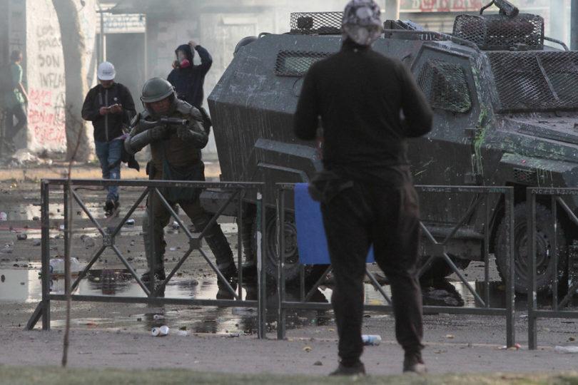 Contraloría investigará uso de bombas lacrimógenas en manifestaciones
