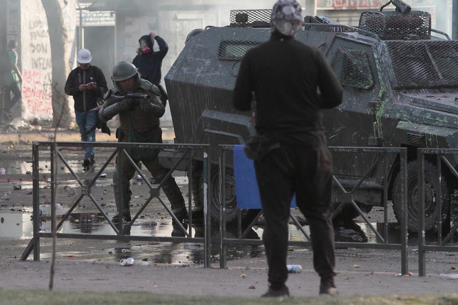 """""""Contraloría investigará uso de bombas lacrimógenas en manifestaciones"""""""