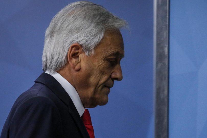 Piñera rompe récord de desaprobación desde el regreso a la democracia