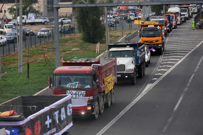 """""""No +TAG"""": camioneros bloquearán carreteras hasta conseguir respuesta del Gobierno"""