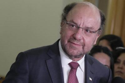"""Alfredo Moreno: """"No hay durante este año ningún aumento de los peajes"""""""