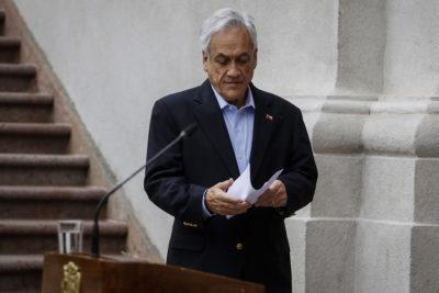 """Piñera y cambio de gabinete: """"Trabajamos en conformación de un nuevo equipo que represente el cambio"""""""