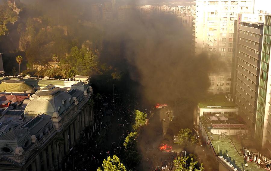 VIDEO | Incendios en locales comerciales de Alameda