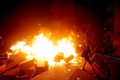 El caos volvió a Santiago, Antofagasta, Concepción y Valparaíso