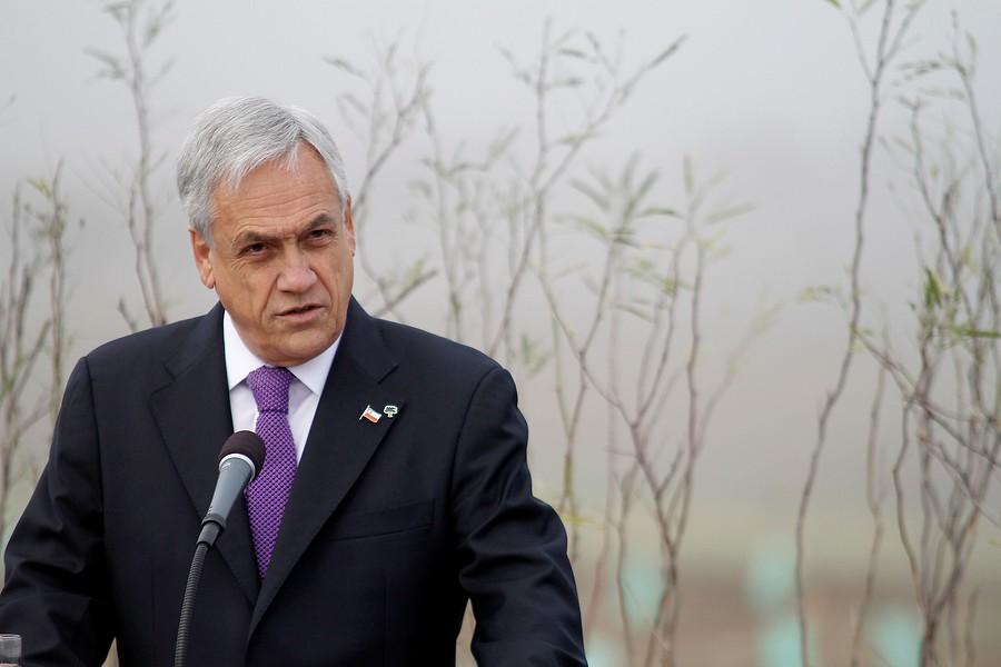 """""""Piñera por sequía:"""
