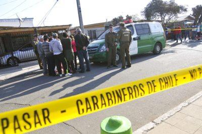 Anciano fue baleado al interior de su domicilio en la comuna de La Granja