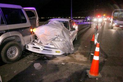 Mujer y su hija de 5 años fallecieron en brutal accidente en Buin