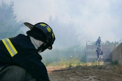 Valparaíso: declaran Alerta Roja por incendio forestal en Curauma