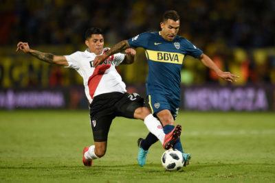 El polémico gesto de Carlos Tevez tras la derrota de Boca ante River