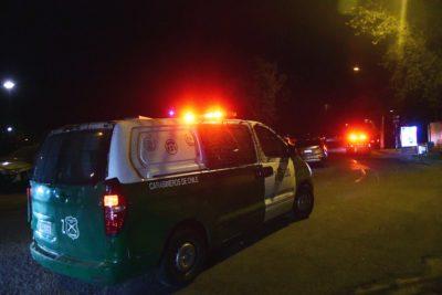 Dueño de restaurante se entregó a Carabineros tras asesinar a su pareja