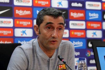 """Ernesto Valverde: """"Arturo Vidal es un jugador útil, está claro"""""""