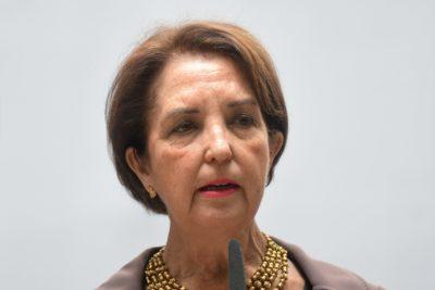 VIDEO| La razón de por qué la ministra Hutt evadió pregunta sobre su renuncia