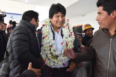 Elecciones en Bolivia: Evo Morales se declara ganador en primera vuelta