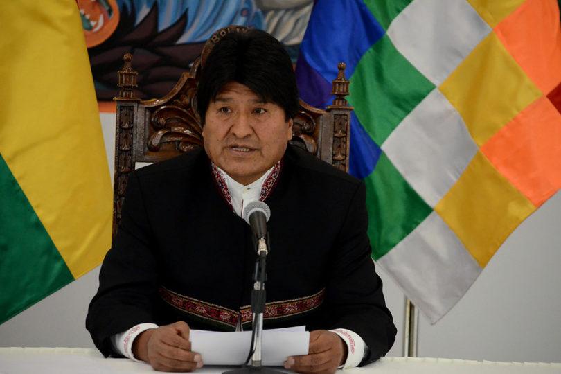 Evo Morales acusa a oposición de eventual golpe de Estado si gana las elecciones
