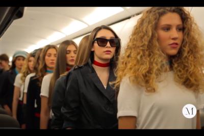 Con altura: Elite Model Look arma pasarela aérea en su final 2019