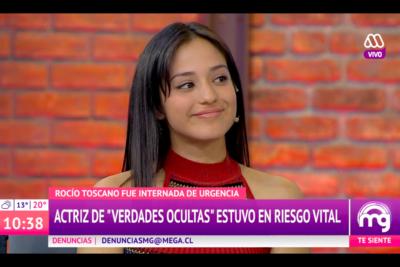 """Rocío Toscano reapareció tras complicado estado de salud que la tuvo al borde de la muerte: """"El dolor era heavy"""""""