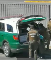Carabineros aclara video sobre funcionarios presuntamente robando