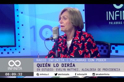 VIDEO |Evelyn Matthei confirmó que el Gobierno le ofreció el puesto de ministra del Interior