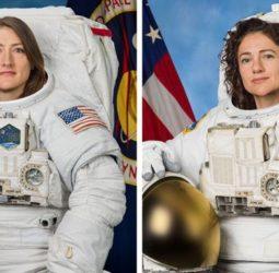 Hoy será la primera caminata espacial exclusiva de mujeres