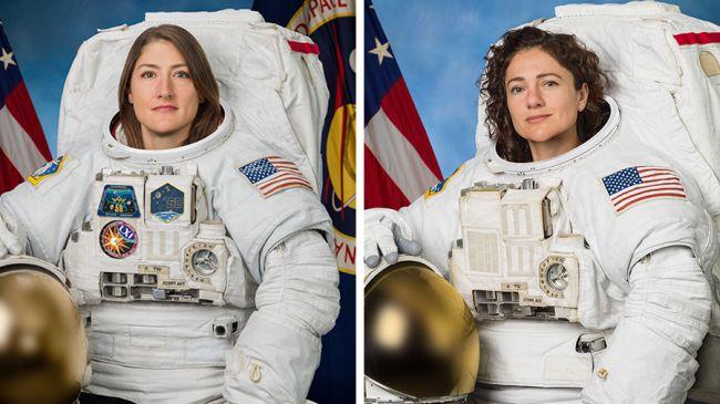 """""""Hoy será la primera caminata espacial exclusiva de mujeres"""""""