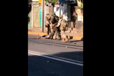 Formalizan al primer militar imputado por disparos en contra de un civil en Colina