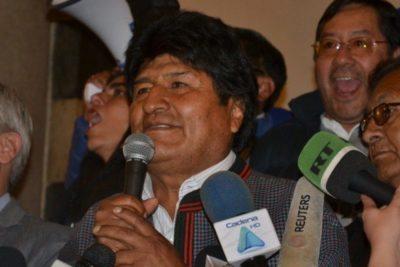 Habrá segunda vuelta: Evo Morales se impone a Carlos Mesa en Bolivia