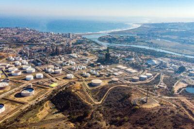 """Proyecto de ENAP que busca reducir las emisiones a la atmósfera en """"zona de sacrificio"""" sortea su primera valla"""