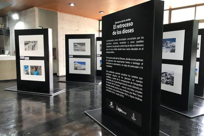 Exposición fotográfica refleja preocupante derretimiento de los glaciares en Chile