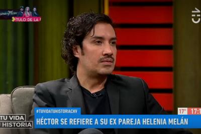 """""""No esperábamos la violencia"""": Héctor Morales reveló cómo fue su relación con Helénia Melán"""