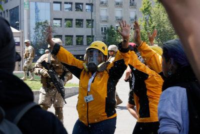 INDH actualiza la cifra de heridos llevados a hospitales durante las protestas