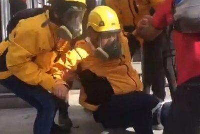 VIDEO | Observador del INDH es herido con balines en plena Alameda