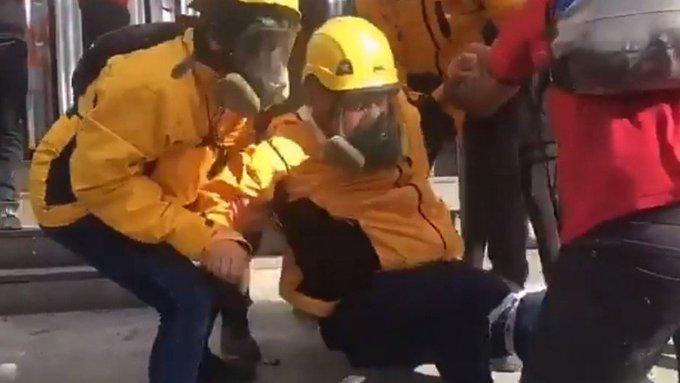 """INDH se querella por agresión a funcionario y responde a acusaciones de """"montaje"""""""