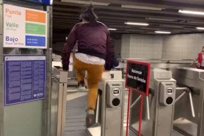 """""""Inoportuno"""": Hutt se enoja con Jorge Alís por sus """"7 formas de evadir el Metro"""""""