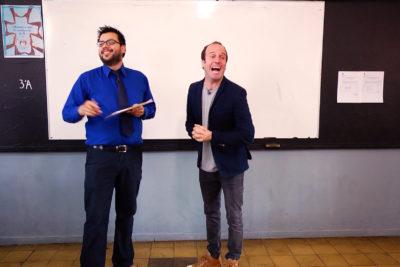 Así será el nuevo programa de TVN que llevará a reconocidos comediantes a colegios para enseñar Historia