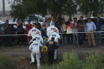 PDI investiga hallazgo de cadáver en canal de regadío en Machalí