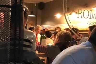 La Moneda explica foto de Piñera en restaurant en medio de las protestas