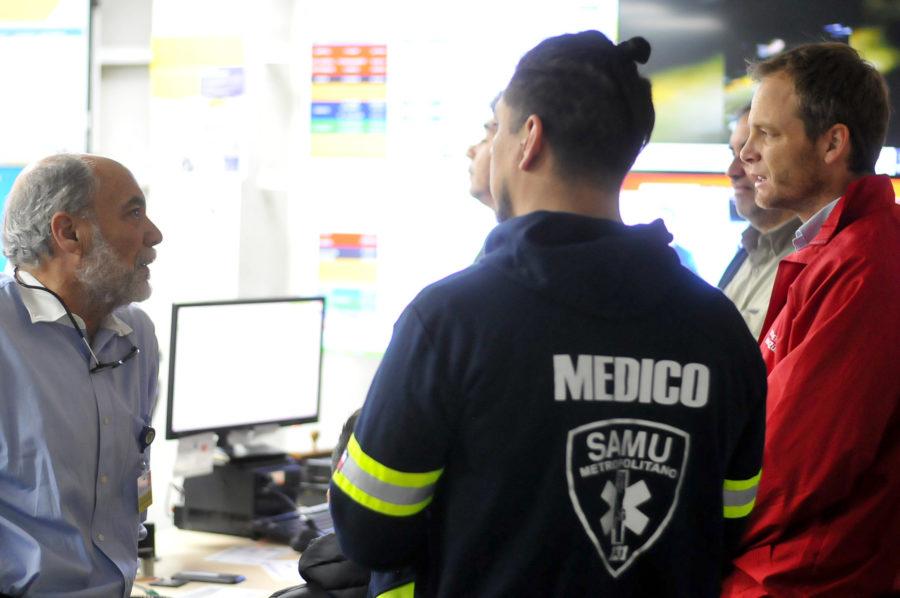 """""""SAMU Metropolitano: llamados al 131 se duplicaron durante estos últimos días"""""""