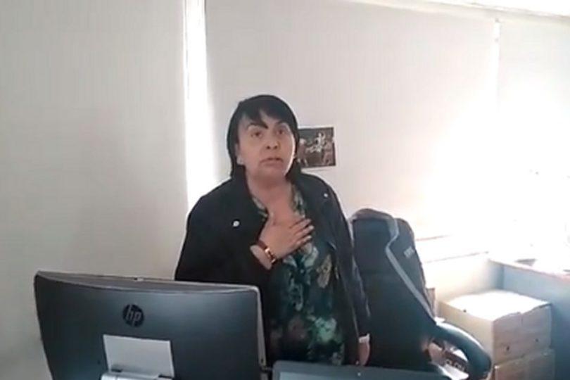 La verdad detrás del viralizado video del despido de la jefa del departamento de Laboratorios del SML
