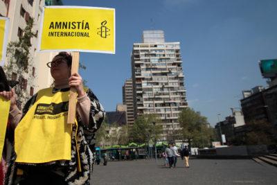 """Amnistía Internacional y actuar de la policía en Chile: """"Es violación de los DD.HH."""""""