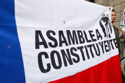 Participación ciudadana y salida a la crisis: una reforma constitucional inmediata