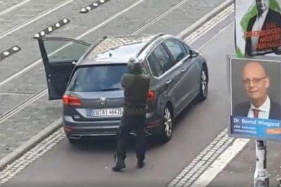 Alemania: atacante de la sinagoga transmitió en vivo el tiroteo en Twitch
