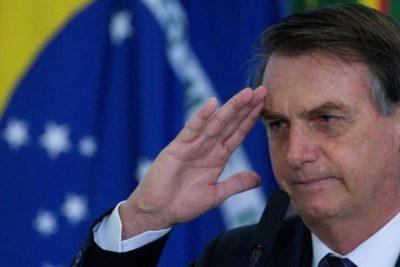 Bolsonaro anuncia que Ejército de Brasil está listo para responder a manifestaciones como las de Chile