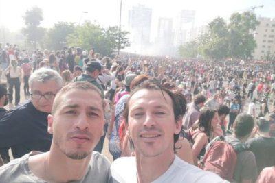 Más allá de las redes sociales: los deportistas que salieron a la calle a protestar
