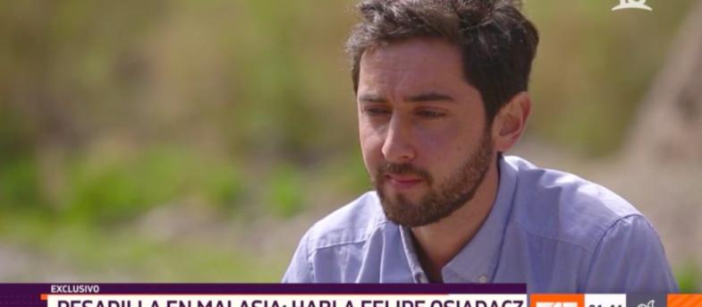 """""""Quería dejar de vivir ese sufrimiento"""": Felipe Osiadacz rompe el silencio a meses de huir de Malasia"""