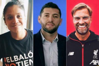 De izquierda a derecha: el pase libre de marca de los futbolistas a la política