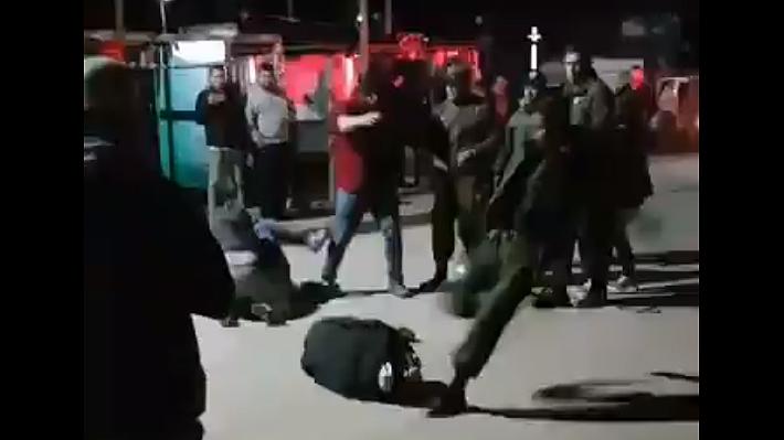 """""""Dan de baja a Carabinero que propinó brutal golpiza en el suelo a una persona en Curanipe"""""""