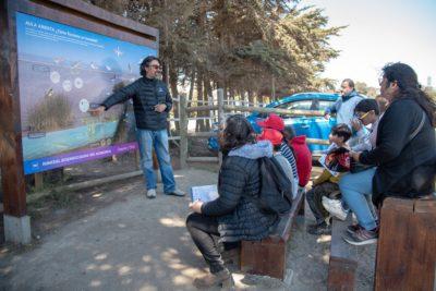 Estudiantes de turismo se capacitarán como monitores del Humedal de Concón