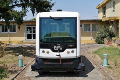 Primer vehículo autónomo de Latinoamérica hará su estreno en Parque O'Higgins